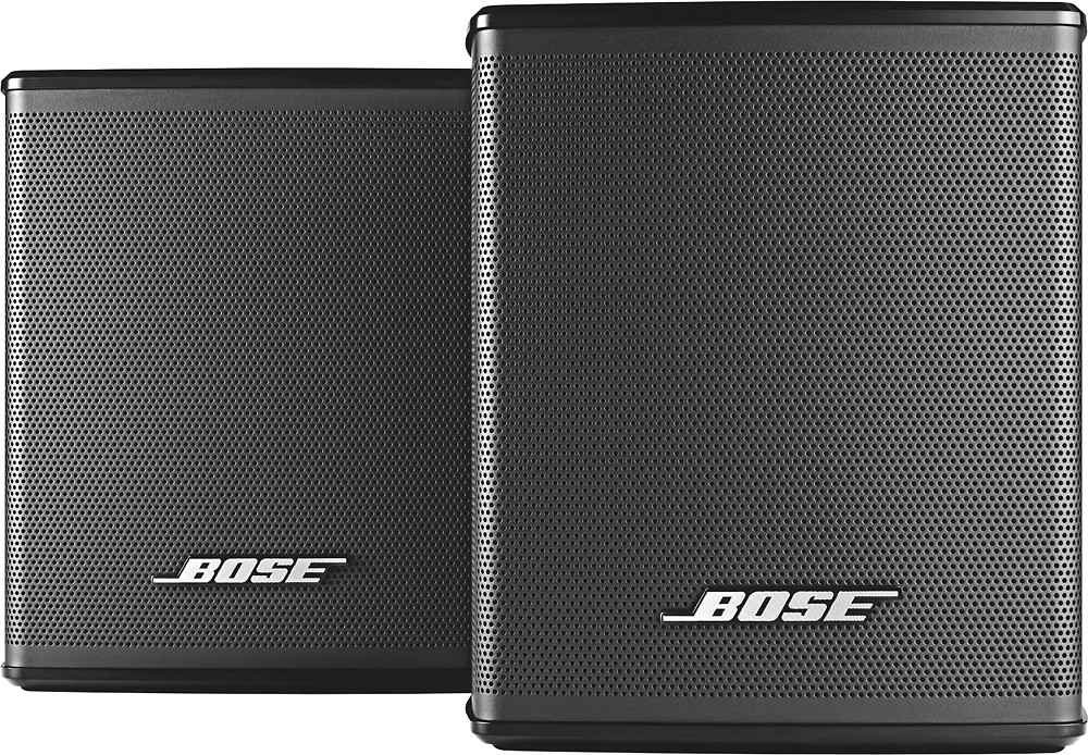 Cheap Bose Virtually Invisible 300 wireless surround speakers Black color for sale
