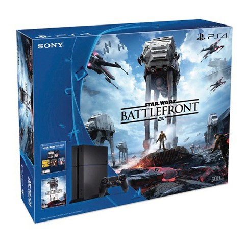 Brand new Sony PlayStation 4 Star Wars™ Battlefront™ 500GB Bundl