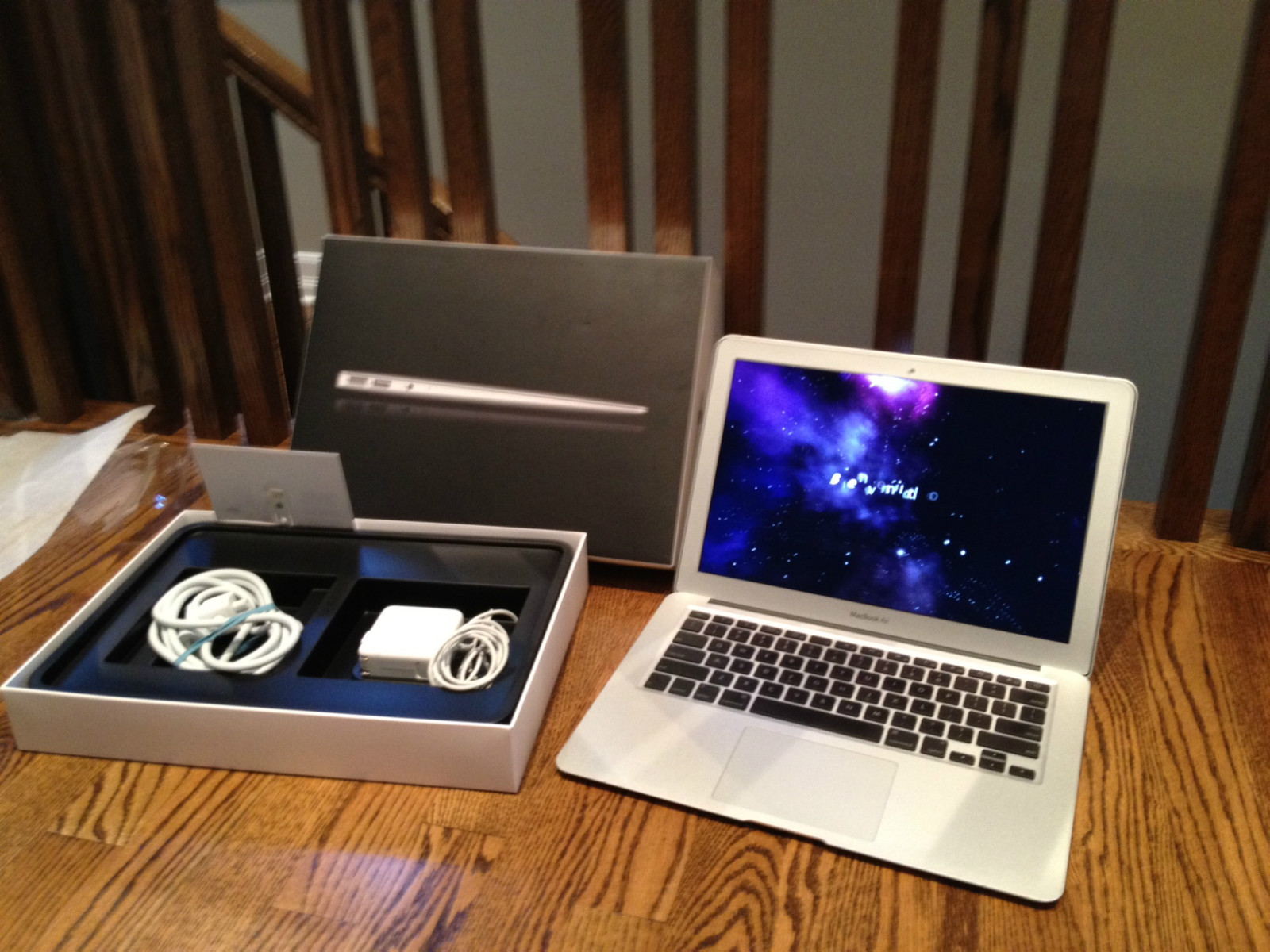 brand new cheapest apple macbook air 13 128gb ssd 8gb 1. Black Bedroom Furniture Sets. Home Design Ideas