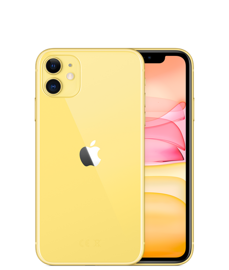 Brand new discount apple iphone 11 yellow color 6.1inch factory unlocked for sale