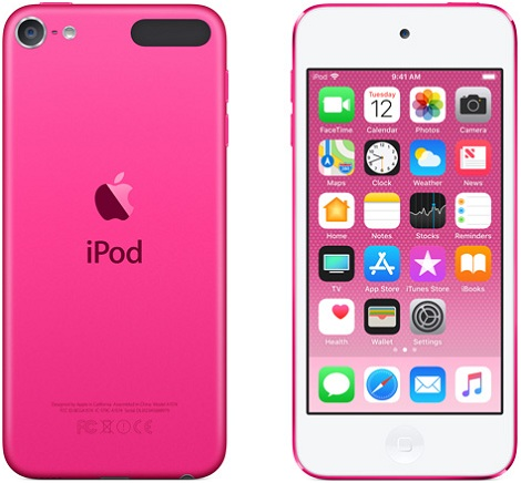 Apple iPod touch pink