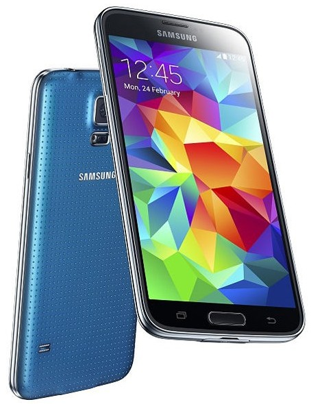 Brand New Discount Samsung Galaxy S5 64gb V i9600 Blue Color Fac