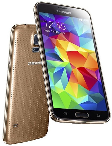 Brand New Cheap Samsung Galaxy S5 32gb V i9600 Gold color Factor