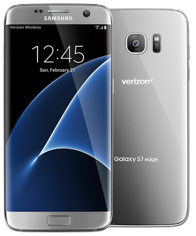 Brand New Cheap Samsung Galaxy S7 Edge 32GB Silver Titanium Colo