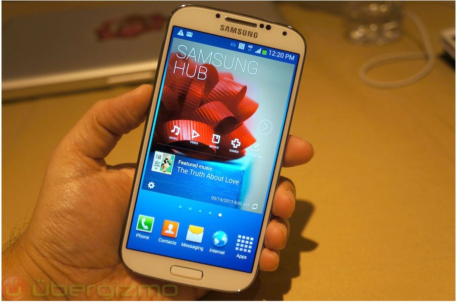 Cheap Samsung Galaxy S4 SIV GT-I9500 64GB White Frost Factory Un
