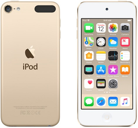 Apple iPod touch gold